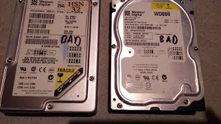 Bad Hard Drive?  Use Check Disk Utility to fix a bad hard drive