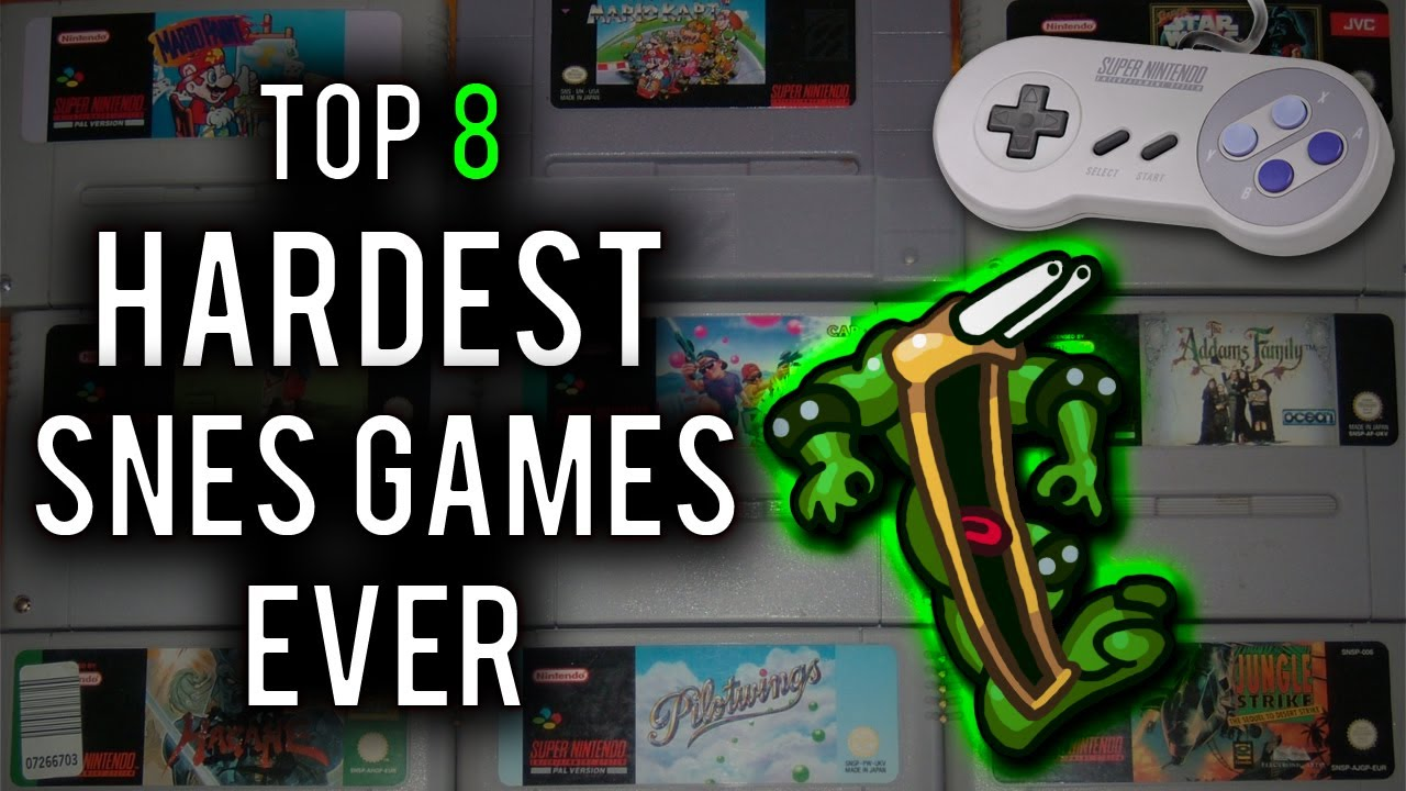 Top Ten Hardest Games Ever