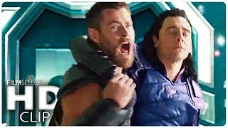 Video THOR RAGNAROK: 5 Clips from the Movie (Marvel 2017) download MP3, 3GP, MP4, WEBM, AVI, FLV Desember 2017