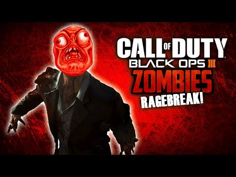Call of Duty: Black Ops 3 Zombies Funny Moments - Nightmare Rage Break