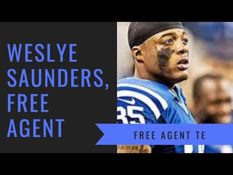 Weslye Saunders, TE   NFL Free Agent Workout