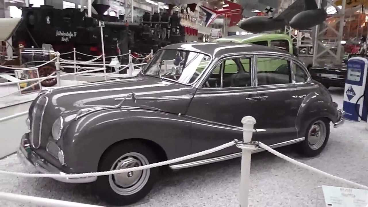 the bmw 502 from 1960 - historical german car - youtube