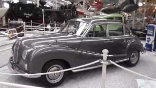 The BMW 502 from 1960 - Historical german car