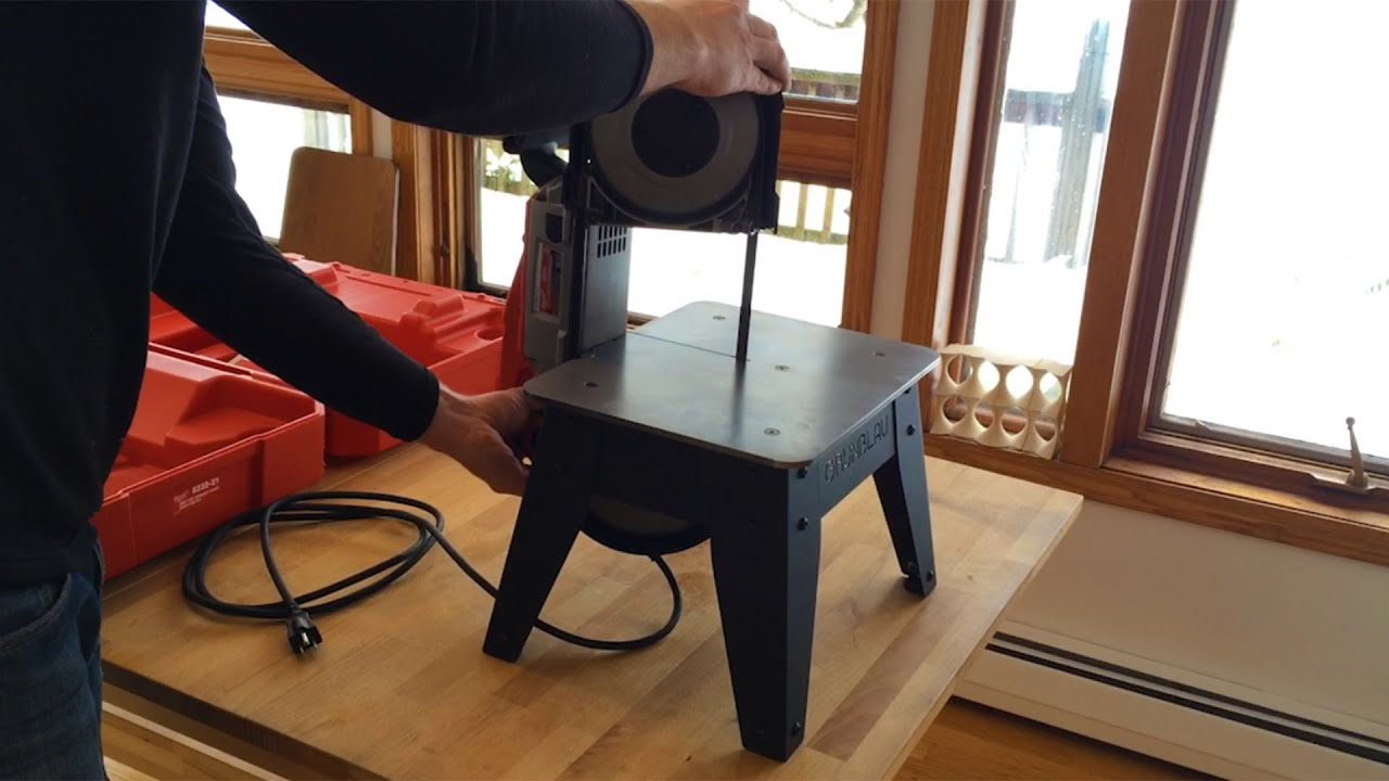 Making A Table For My Portable Bandsaw Youtube