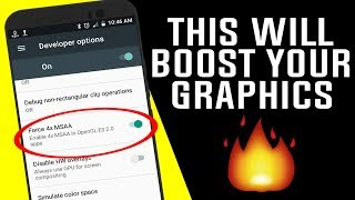 How To Increase Graphics of Any Android Device - Android Tips And Tricks
