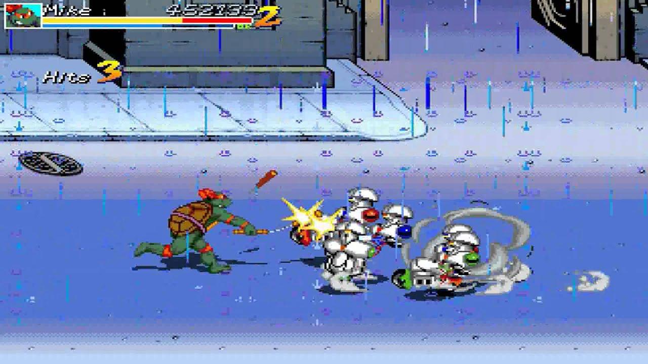 Teenage Mutant Ninja Turtles: Red Sky Battle OPENBOR 1080P HD Playthrough -  STAGE 7 FINAL