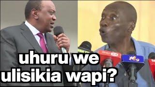WE ULISIKIA WAPI..... UHURU KENYATTA VS BWEGE DP RUTO AND LUNYAGAPUO