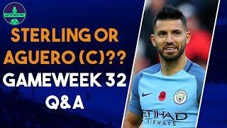 FPL BEST CAPTAIN FOR GW32?   Q&A Part 1   Fantasy Premier League 2018/19