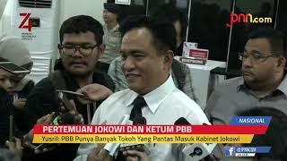 Yusril: PBB Punya Banyak Tokoh Yang Pantas Masuk Kabinet Jokowi