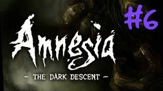 Amnesia: Mroczny obłęd - gameplay #6 (zapis z live'a)