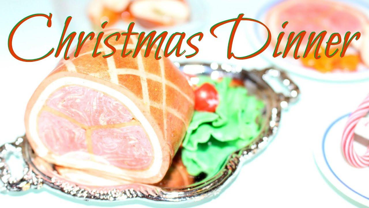 American Girl Doll Christmas Dinner Review - YouTube