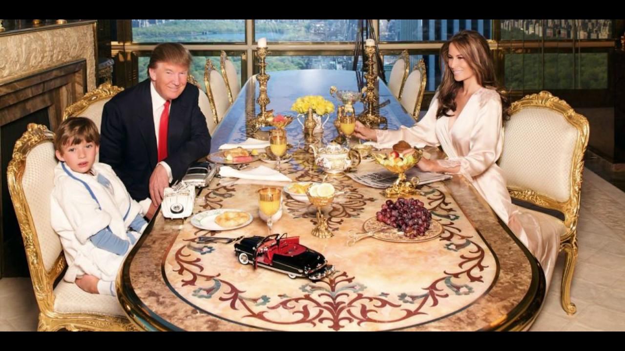 BIJELA KUĆA JE PREMALA ZA NJIH: Evo kako izgleda dom Donalda Trumpa -  YouTube