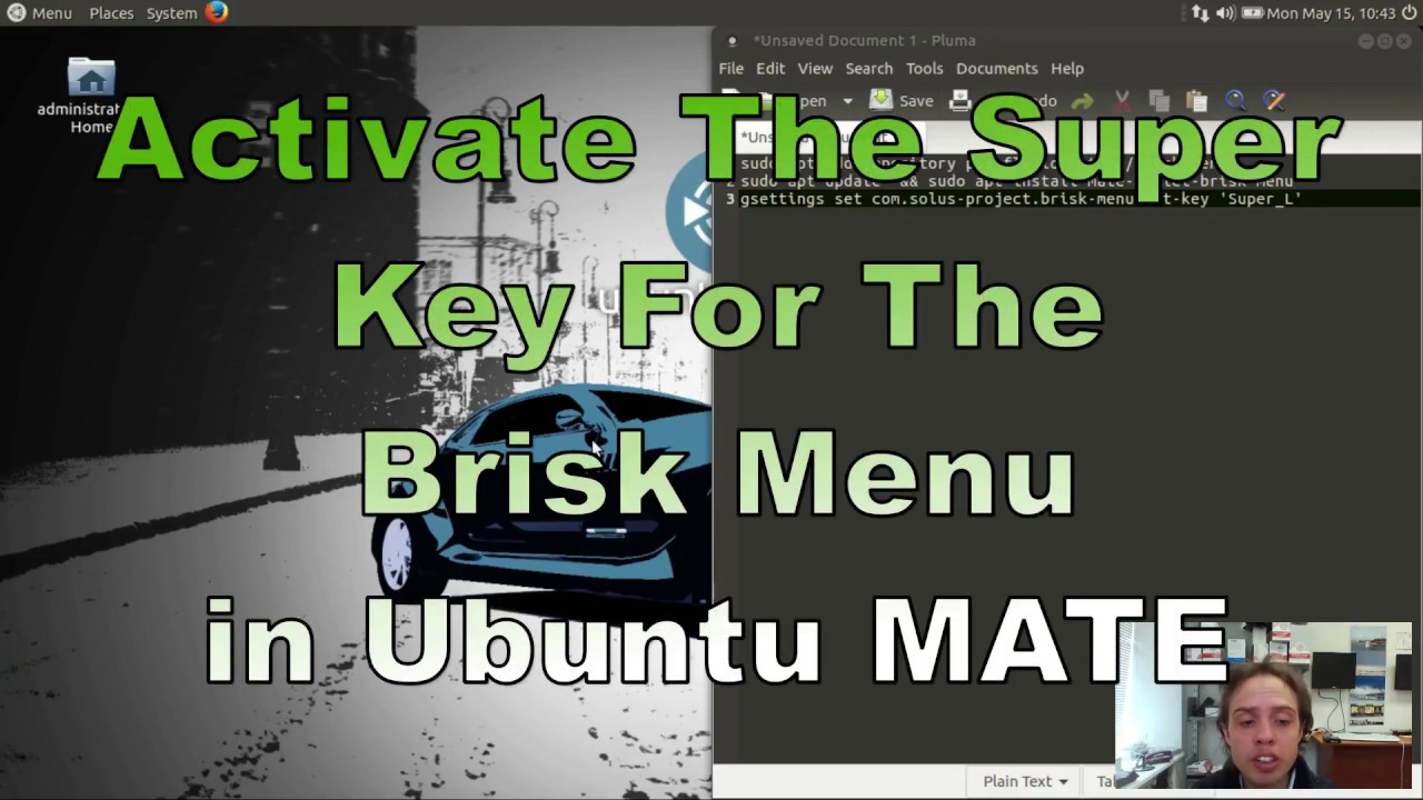 Activate The Super Key For The Brisk Menu in Ubuntu MATE 17 04