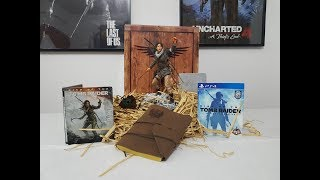 Rise Of The Tomb Raider Collectors Edition-20Anniversary-Steelbook Edition unboxing