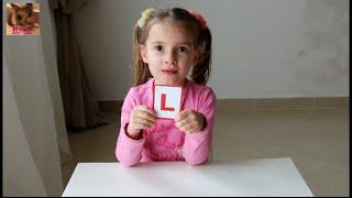 """Impariamo  l'alfabeto Italiano. Lettera """"L"""".  Изучаем итальянский алфавит. Буква """"L""""."""