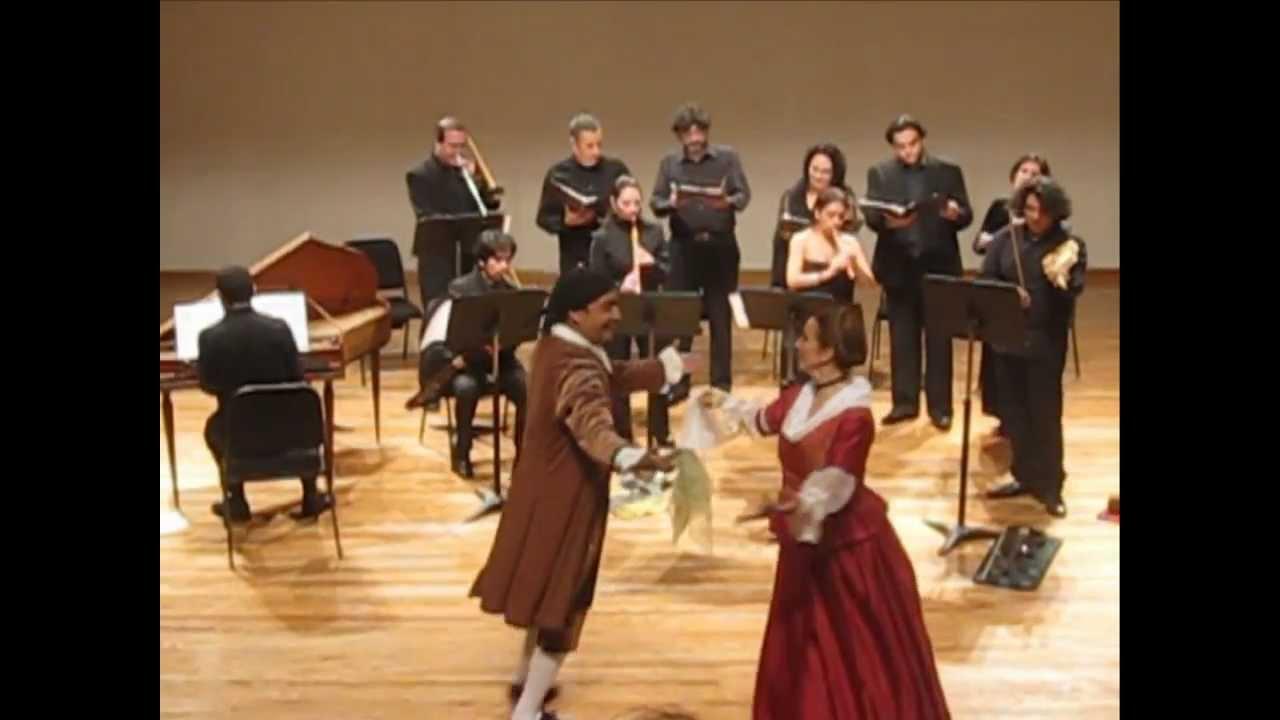 Música Y Danza En La época Virreinal Grupo Concierto Barroco Youtube