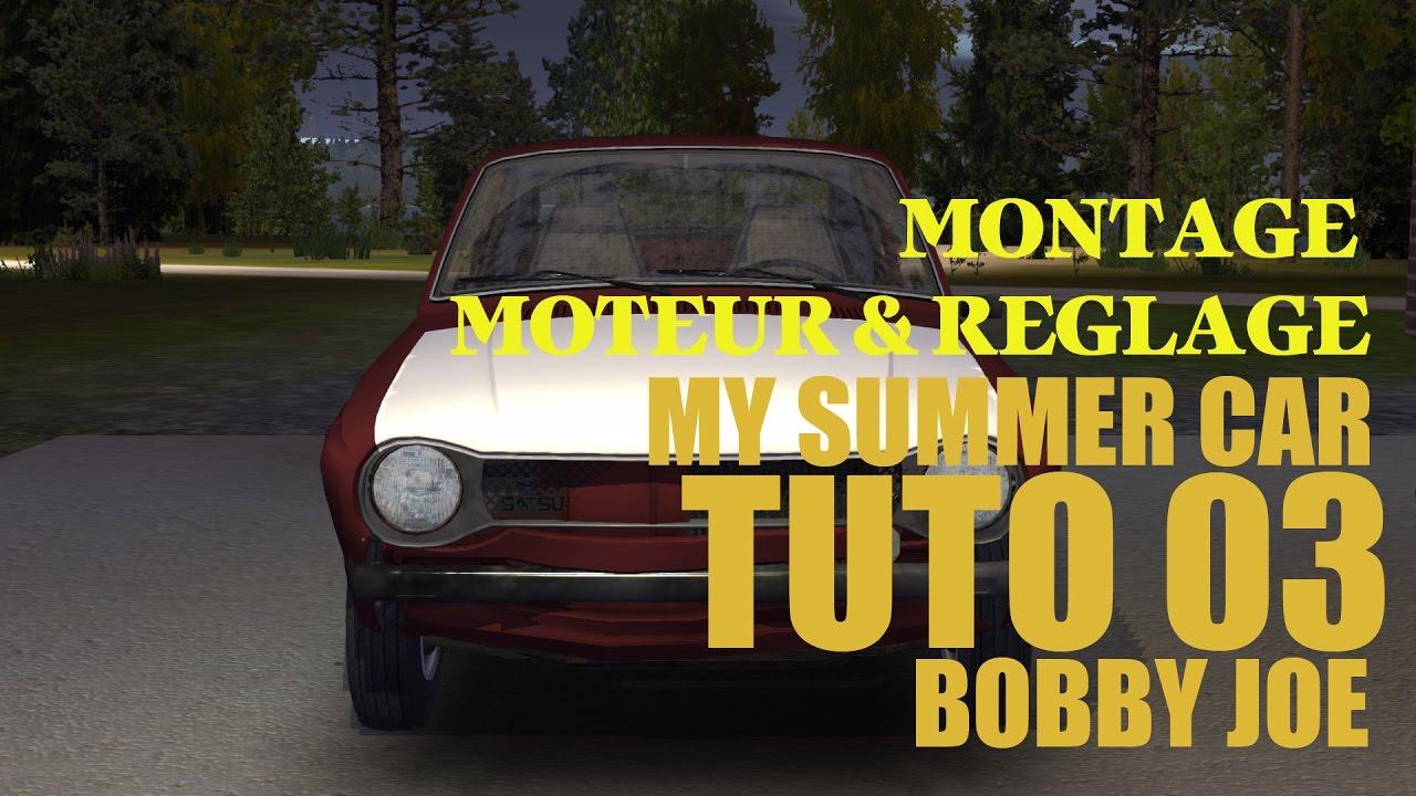 My Summer Car Tuto Moteur Réglage 03