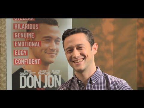 DON JON movie interview with JOSEPH GORDON-LEVITT - 500 Days of Summer, Inception