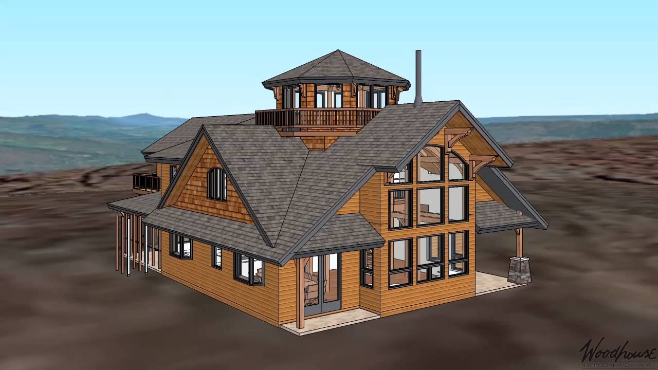 Woodhouse Custom Timber Frame Home Tour