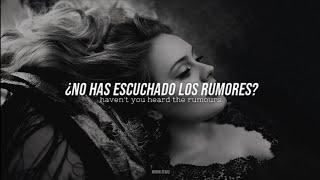 Adele • RUMOUR HAS IT   Letra en Español e Inglés