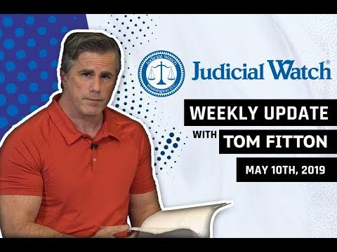 Tom Fitton's Weekly Update: #SpyGate Update...Obama WH Implicated in #ClintonEmailScandal & More!