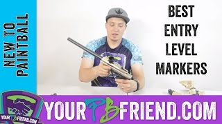 New To Paintball: Best 3 Entry Level Markers Under $200 - Yourpbfriend