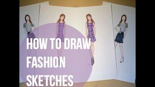 How to Draw Fashion Sketches | urbanliv