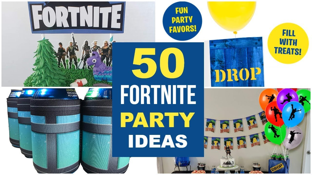 50 Best Fortnite Party Ideas & Supplies!