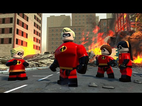 22 Minutes of LEGO The Incredibles Gameplay