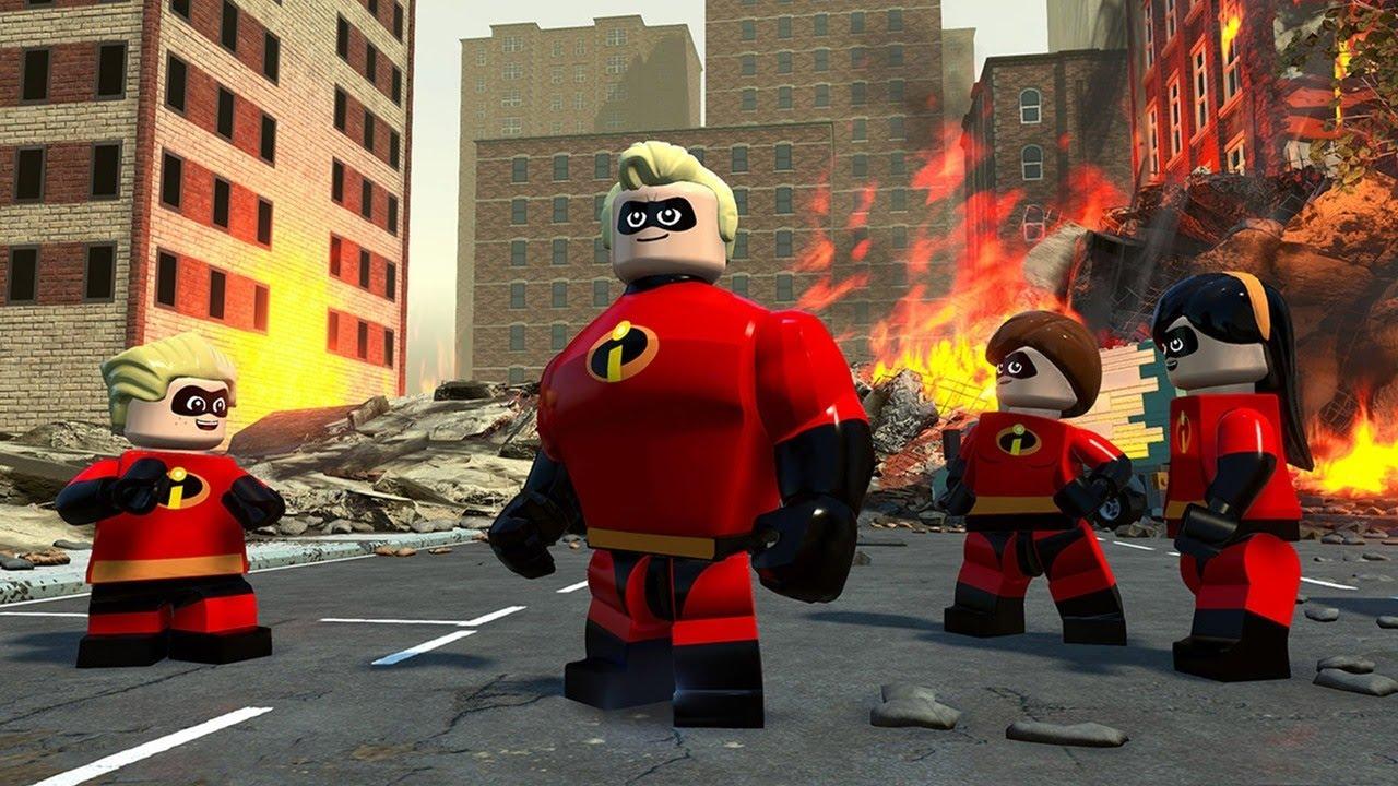 Resultado de imagen para LEGO THE INCREDIBLES GAMEPLAY