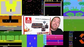 Atari Flashback 8 Classic Unbox & Gameplay