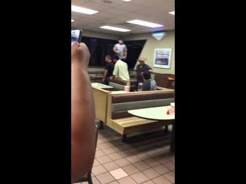 Edinburg Texas whataburger fight