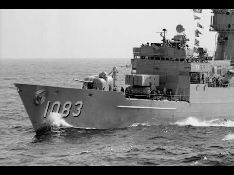 USS H. E. Holt (FF-1074) unrep - WesPac 1989
