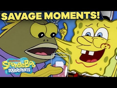 SpongeBob's Top 26 Most Savage Moments 💀