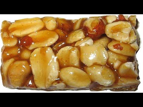 Chikki- Peanut chikki recipe with jaggery by siri@siriplaza.com