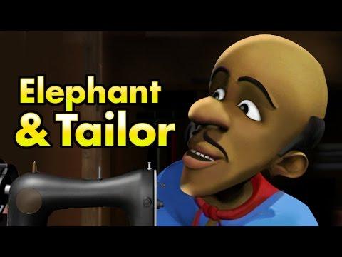 Elephant & the Tailor | manchadi song | manjadi |  malayalam animation cartoon series