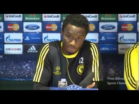 Chelsea vs Juventus - John Mikel Obi