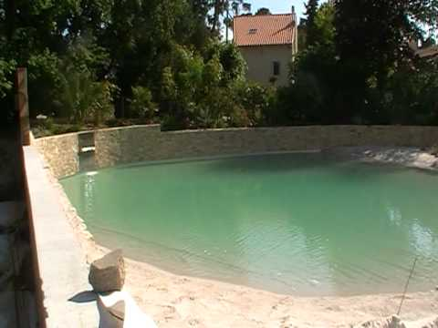 Paul heraudeau piscine naturelle chez particulier youtube for Piscine naturelle