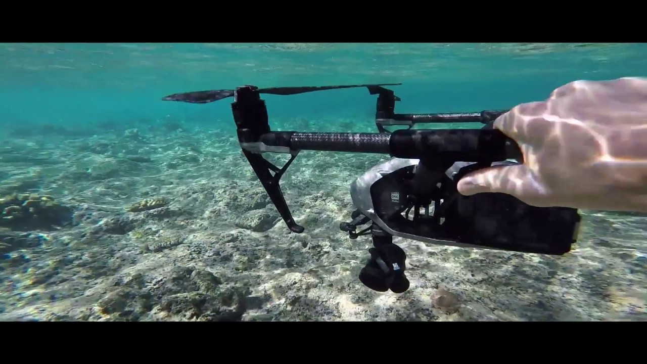 DJI Inspire 2 Crashes Into The Ocean