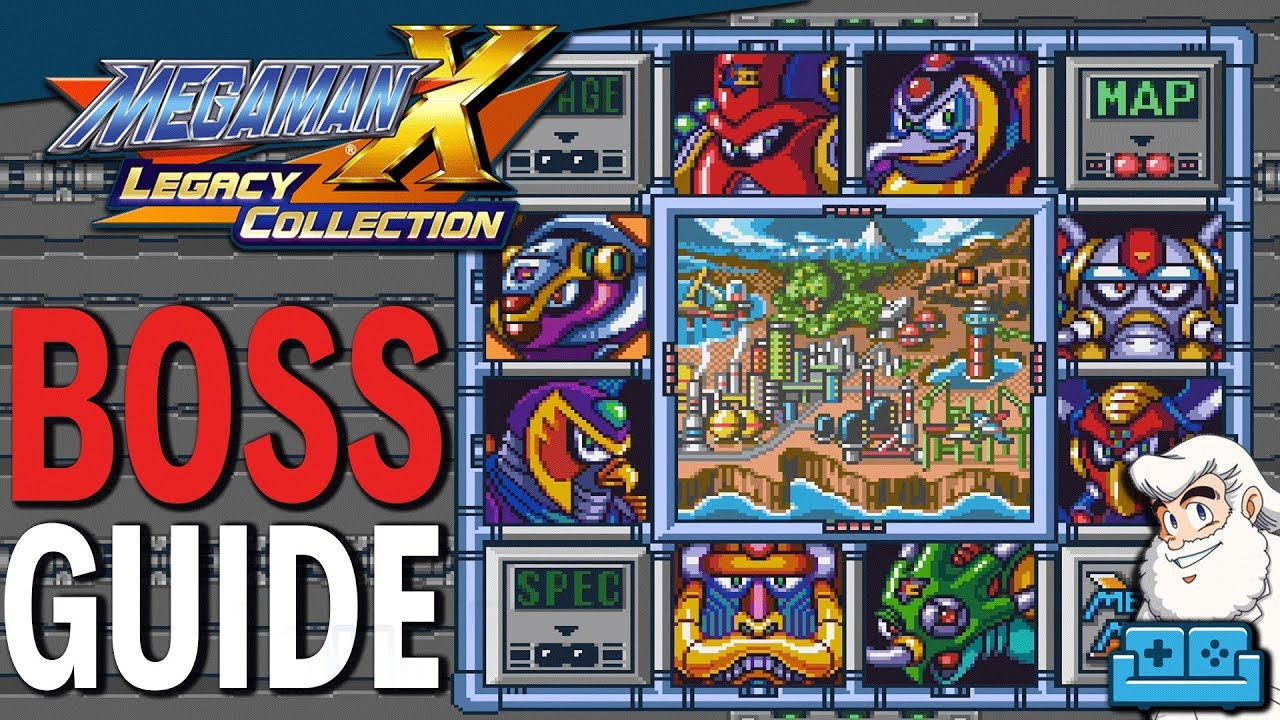 Mega Man X Legacy Collection: How To Beat Every Boss | All