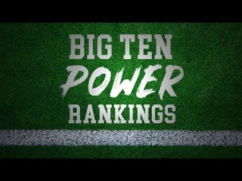 Big Ten Power Rankings Week 12