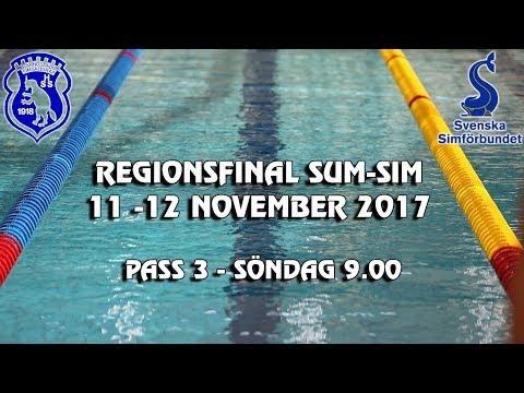 Sum Sim Reg 2017 Härnösand - Pass 3