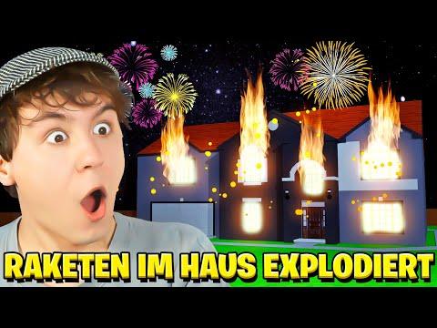 100 FEUERWERK RAKETEN im HAUS anzünden?! - Fireworks Mania