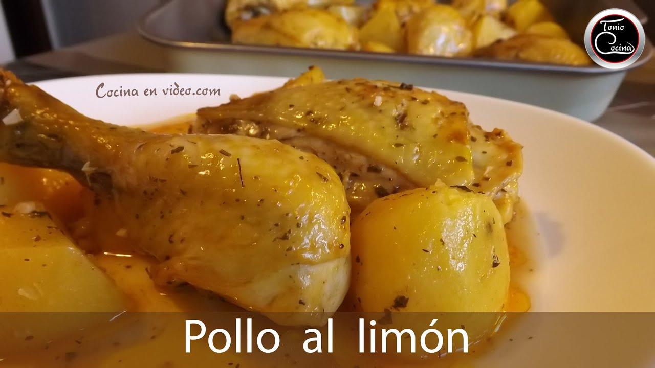 Muslos de pollo al lim n horneados deliciosos lemon for Cocinar 2 muslos de pollo