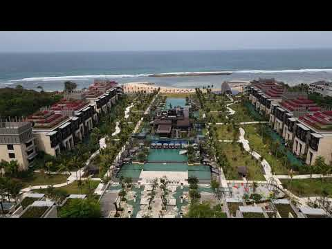 Kempinski Hotel Bali First Impression Youtube