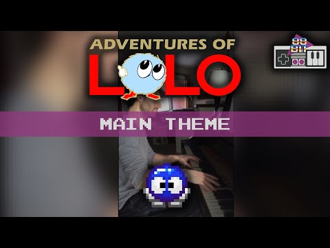 The Adventures of Lolo (Eggerland) - Main theme (part 1 of 3)