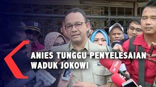 Tangani Banjir Jakarta, Anies Baswedan Tunggu Proyek Jokowi