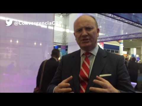 Declan Ganley, CEO Rivada Networks en el MWC