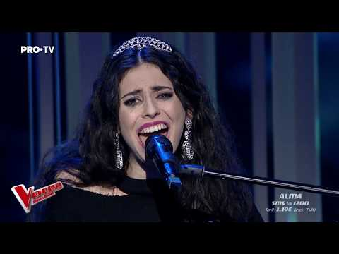 Alma Boiangiu - Chandelier | Live 1 | Vocea Romaniei 2018
