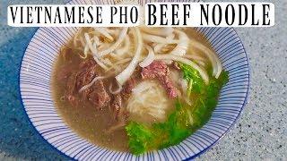 EASY VIETNAMESE PHO BEEF NOODLE SOUP  RESEP MUDAH SOUPNYA ORANG VIETNAM